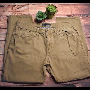 WP waterproof lightweight tan khaki jeans 36 x 30